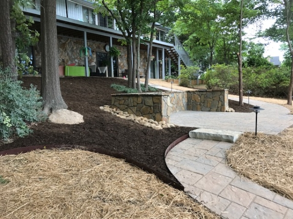hardscapes landscaping portfolio charlotte nc wilson s natural